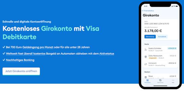 DKB kostenlos