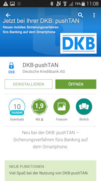 DKB pushTAN App