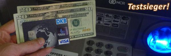 Mit der DKB Visa Card kostenlos US-Dollar aus dem Automaten geholt!