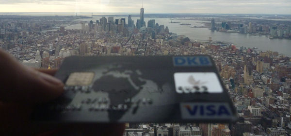 carta Visa DKB New York City - Manhatten