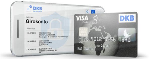 DKB Visa Card mit Banking-App