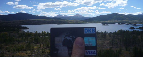 DKB Visa Card in Colorado, USA
