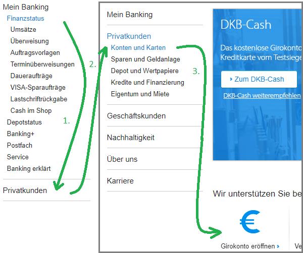 DKB Zweit-Konto eröffnen
