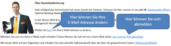 E-Mail-Footer