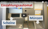 Einzahlung bei der Commerzbank