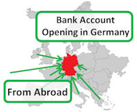 bank account opening in Germany from abroad