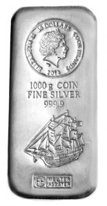 Cook islands coin bars silver