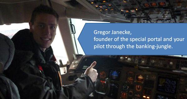 Gregor als Pilot