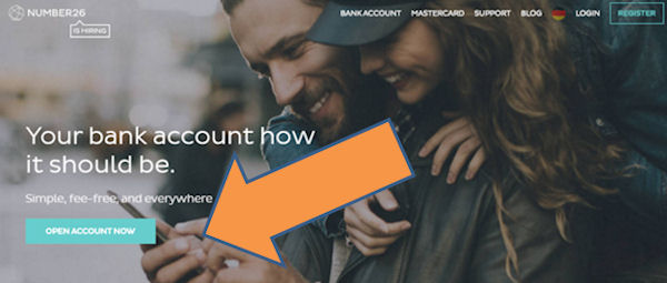 Open bank account in Germany online