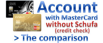 Account without Schufa – credit check