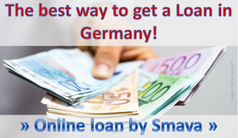 The best way to get a loan in Germany!