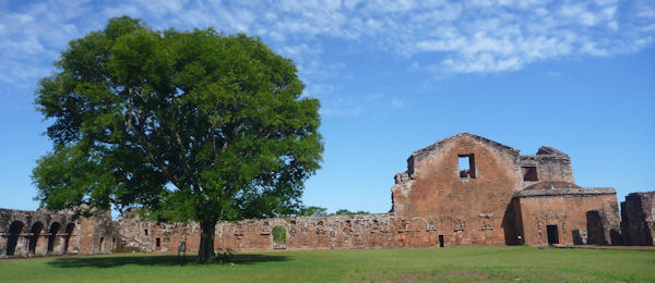 Jesuiten-Reduktion bei Encarnación in Paraguay