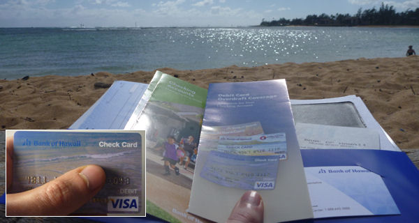 Open an account with Visa Card in Hawaii