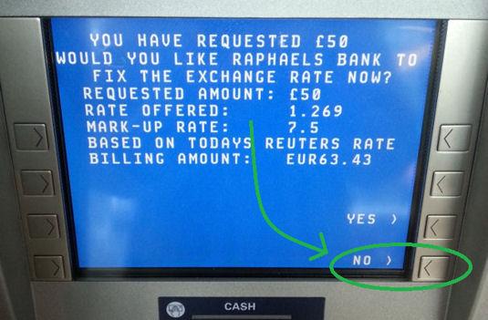 ATM in UK