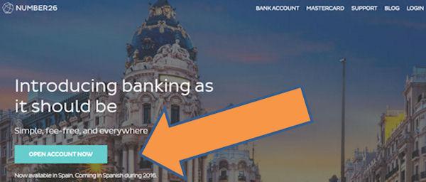 Cuenta bancaria en Número26 abierta ahora!