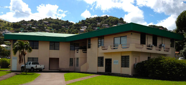 Sitz der Euro Pacific Bank Limited in Kingstown