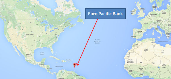 Euro Pacific Bank St. Vincent