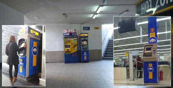 Geldautomaten von Euronet Worldwide