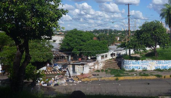 Favela in Asunción
