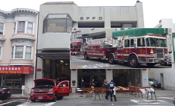 Fire Dempartment San Francisco by cleaning