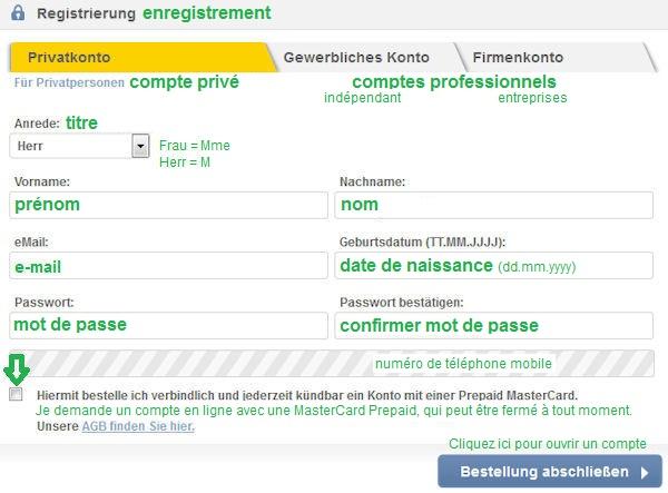 Ouverture De Compte Immediate En Allemagne Onlinekonto