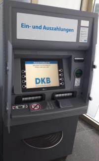 Geldautomat der DKB