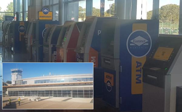 Geldautomaten am Flughafen Zadar