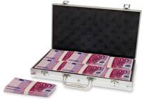 Geldkoffer mit 500er-Scheinen
