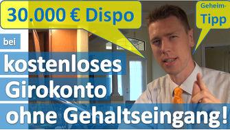 Girokonto ohne Gehaltseingang