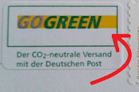Go Green Deutsche Post