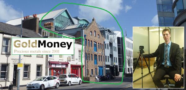 GoldMoney auf Jersey