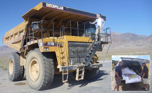 Goldsuche in Nevada