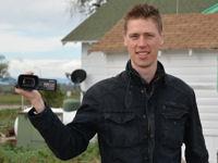 Gregor mit der Kamera