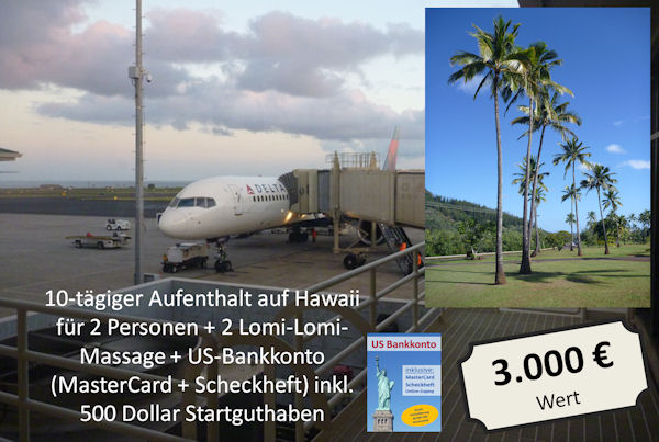 Hawaii-Reise