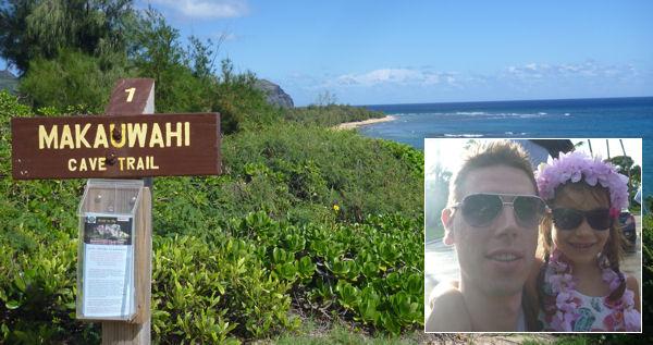 Wanderung auf Hawaii