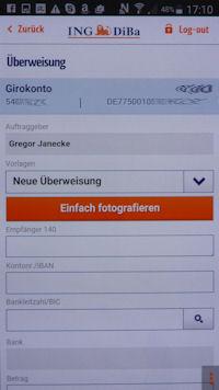 ING-DiBa Banking-App