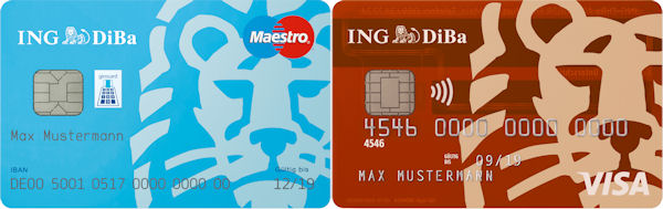 Ing diba with giro visa card free of charge new instructions ng diba giro and visa reheart Image collections