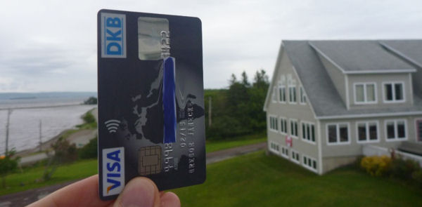 DKB Visa Card in Kanada – hier in Dundee