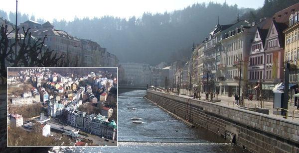 tschechische Kurstadt Karlsbad