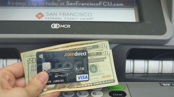 Kostenlos Geld abheben in den USA