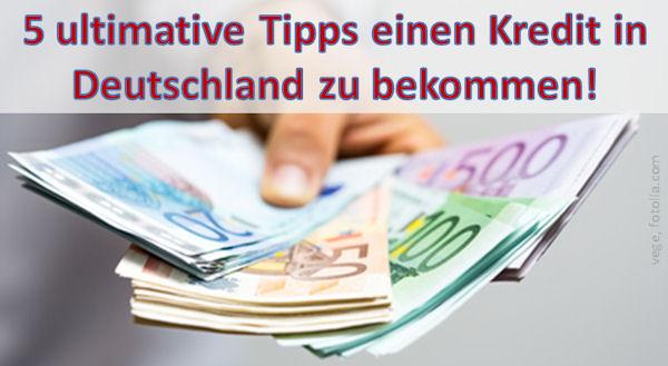 Kredit Tipps