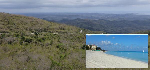 Kuba: Berge und Stände