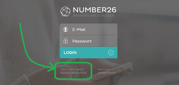 create N26 account