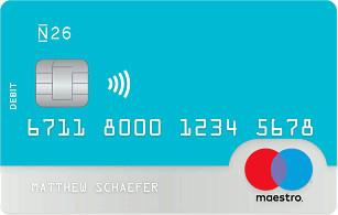 N26 Maestro Card