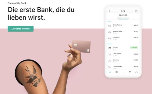 N26 mobile Bank
