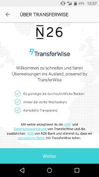 N26 TransferWise