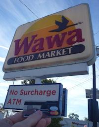 No Surcharge Wawa