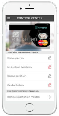 Checking account specifically for smartphone usage