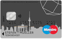 Number26 Maestro-Card
