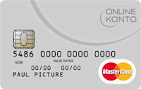 Online-Konto MasterCard